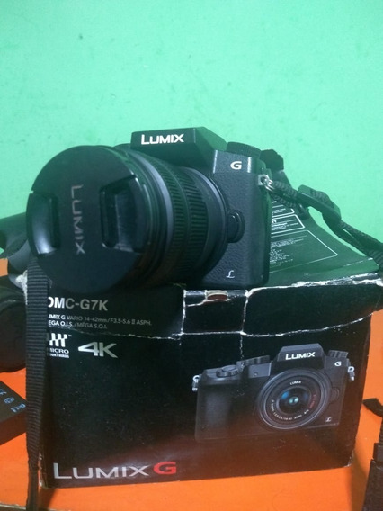 Lumix G7 4k + 14-42mm 1080-60 Fpds