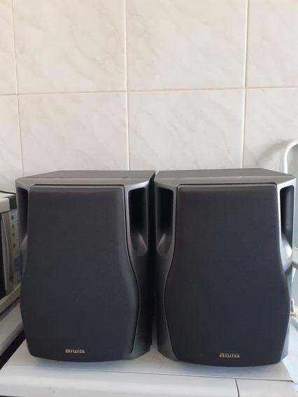 Vendo As Caixas Do Som Aiwa Nsx F12 Originais Em Bom Estado