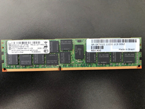 Memoria 16gb 2rx4 Pc3l-10600r M393b2g70h0-yh9 Dell 0kth1g