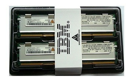 Memorias Para Server 16gb Ddr2 Fb-dimm 2x8gb Kit Hp Dell Ibm