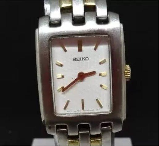Relógio Seiko T03151 Feminino Bateria Em Aço Webclock