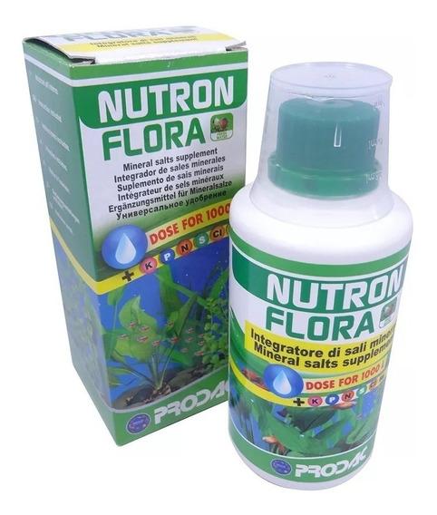Prodac Nutron Flora 250ml Fertilizante Para Aquário Plantado
