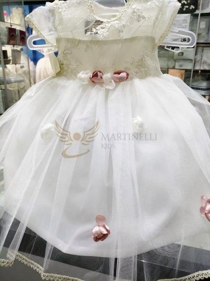Vestido De Paje O Bautizo Económico - Martinelli Kids