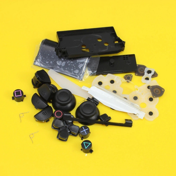 Ps4 Kit 30 Peças Reparo Condutiva L1 L2 R1 R2 Analógico