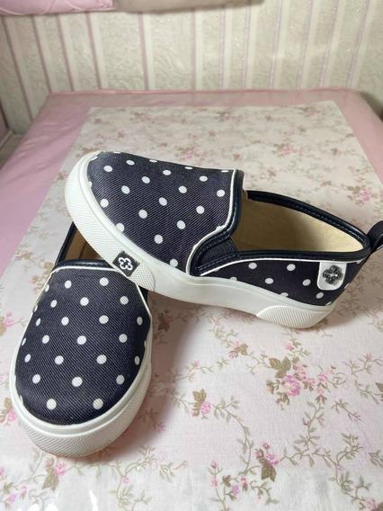 Sneaker Infantil Bolinha Capodarte