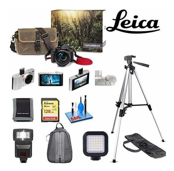 Leica V-lux Typ 114 Digital Camara Explorer Kit Sandisk 12 ®