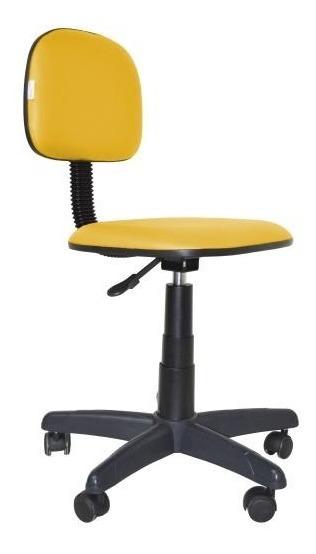 Cadeira De Escritório Secretaria Giratória Diversas Cores