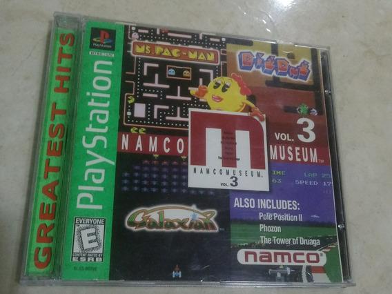 Nanco Museum Vol.3 Play Station Edição Greatest Hits