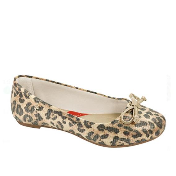 Sapato Onça Animal Print Sem Frete Pampili 010609