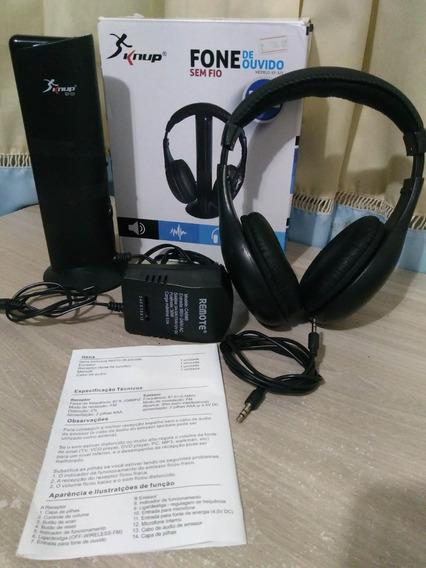 Headphone Wireless 5x1 Kp-323+headphone Multilaser Original