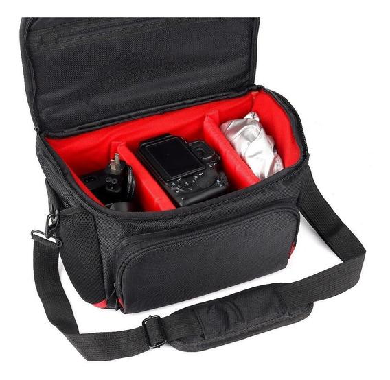 Bolsa P/câmera E Acessórios Semi E Profissional