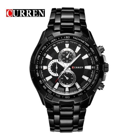 Reloj Hombre Curren 8023 Análogo Original Acero Inoxidable