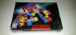 Tetris 2 (snes, 1994) Sellado De Fábrica.