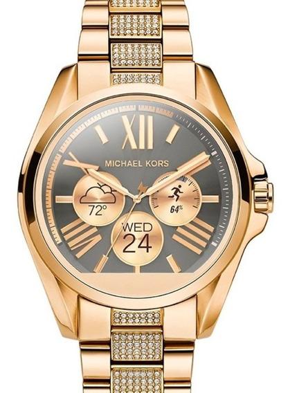 Smartwatch Michael Kors Bradshaw Dorado Modelo Mkt 5002