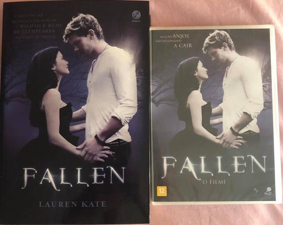 Livro Fallen + Dvd Do Filme (novo Lacrado)