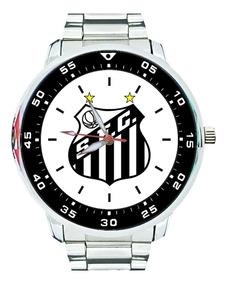 Relógio Santos Futebol Peixe Baixada Pelé Paulistão Gol Top