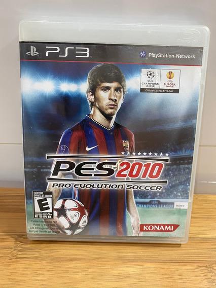 Jogo Pes 2010 Ps3 Mídia Física Original Playstation 3