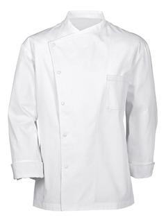 Chaqueta Chef Julius Blanca Manga Larga Cocina Youniforms