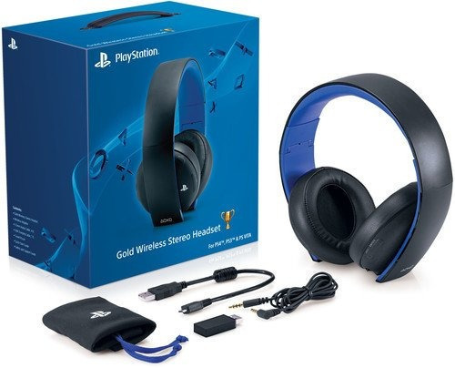 Auriculares Sony Ps4 Gold Wireless Headset 7 1 Nuevo Full Mercado Libre