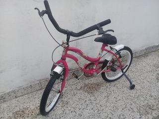 Bicicleta Rodado 16 Marca Liberty