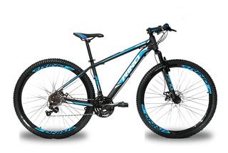 Bicicleta Aro 29 Rino - 21 Velocidades - Kit Shimano