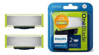 Repuesto Philips Oneblade Qp220 X 2 Cuchilla Qp2521 Qp6510