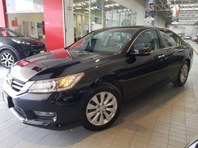 Honda Accord 3.5 Ex-l Sedan V6 Piel Abs Qc Cd Cvt 2013