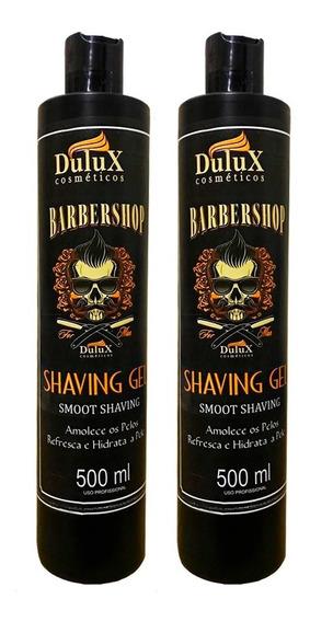 2 Shaving Gel De Barbear 500g Dulux