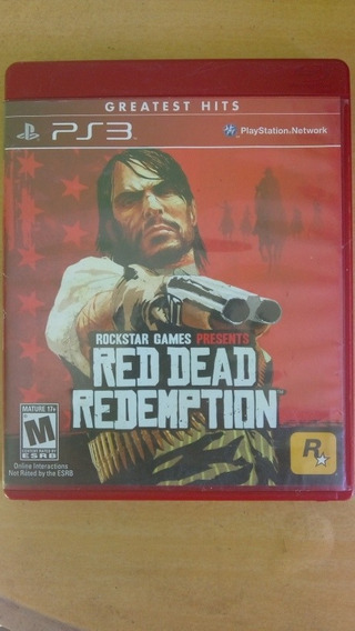 Red Dead Redemption Mídia Física Ps3