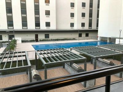 Departamento Amueblado En Renta 68m2 Con 2 Habitaciónes