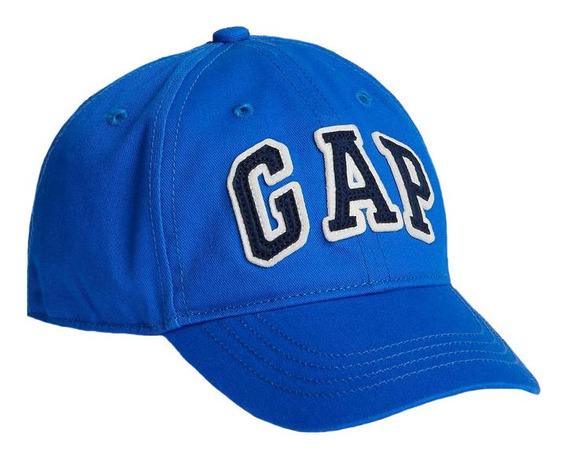 Gorra Niño Beisbol Cierre Ajustable Logo Bordado Azul Gap