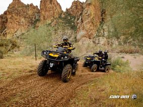 Can-am Outlander Xt-p 1000 2016 Atv Smmotos No Honda