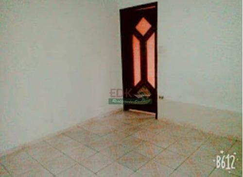 Imagem 1 de 4 de Casa Com 2 Dormitórios À Venda, 70 M² Por R$ 150.000,00 - Jardim Santa Tereza - Taubaté/sp - Ca5396