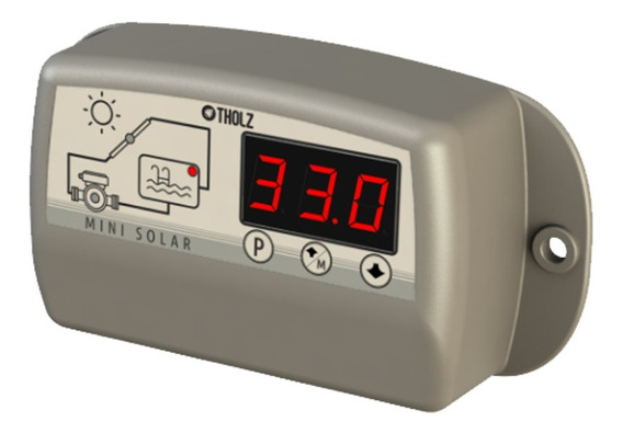 Controlador Para Aquecimento Solar - Mini Mmz 1304n - Tholz