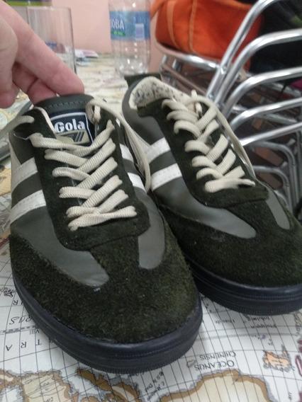Zapatillas Gola N° 41 Verdes