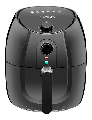 Imagen 1 de 3 de Freidora eléctrica sin aceite Xion Premium XI-FR68 3.5L negra