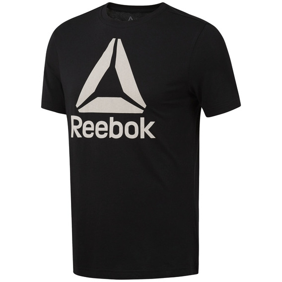 Remera Reebok Training Stacked Hombre