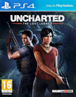 Uncharted The Lost Legacy Playstation 4 Ps4