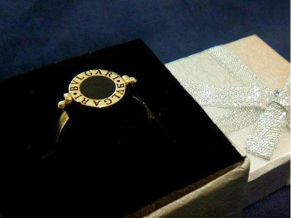 Anillo Bvlgari, Diseño Unico En Oro Solido De 14k Barato