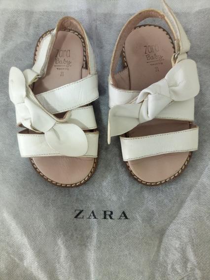 Sandalias Zara Nro. 21
