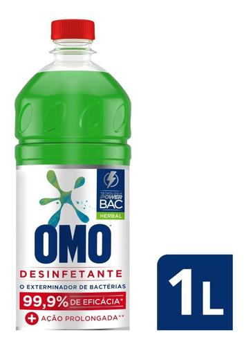 Omo Desinfetante Poder Herbal 1l