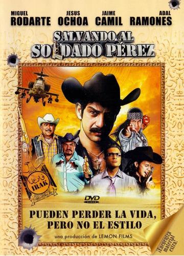 Salvando Al Soldado Perez Miguel Rodarte Pelicula Dvd
