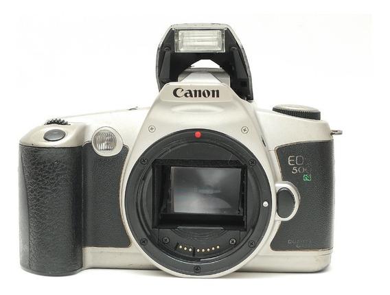 Canon Eos 500n Corpo = 1v Eos 300 Nikon Sony Rebel Minolta