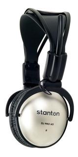 Auriculares Dj Stanton Dj Pro 60 Silver Giratorios+¡ Sale%