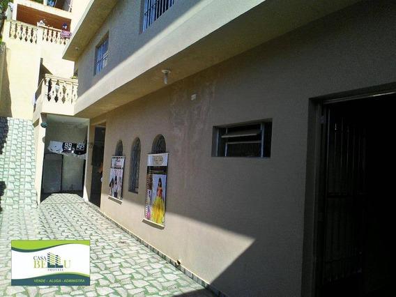 Casa Residencial À Venda, Companhia Fazenda Belém, Franco Da Rocha. - Ca0129