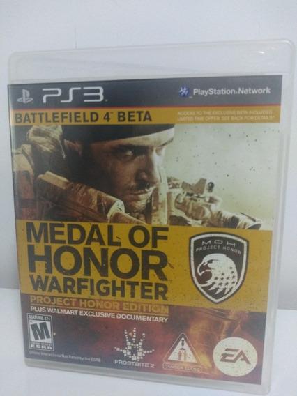Jogo Medal Of Honor Warfighter Playstation 3 Ps3