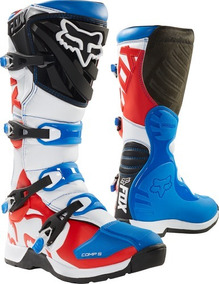 91b0f0e78d8 Botas Fox Comp 5 Niño Red White true Limited Edition  18171