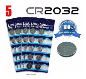 5- Bateria Lithium Cr2032 3v, Hp, Calculadora