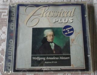 Música Clásica: Beethoven+mozart+tchaikovsky Cd Audio-cd-rom