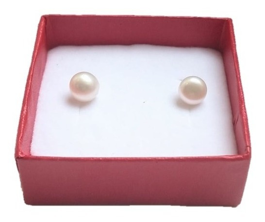 Aretes Perla Cultivada Clásico A052